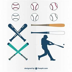 Baseball Bat Vectors, Photos and PSD files | Free Download