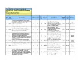 Risk Management Templates In Excel Risk Register Template Lisamaurodesign