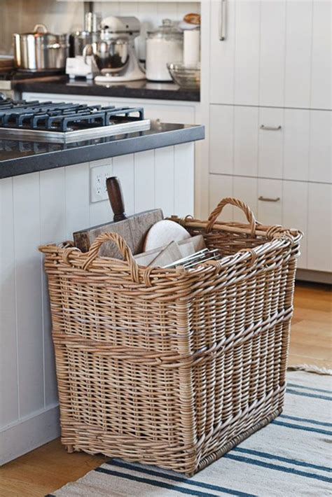 kitchen basket ideas 5 creative kitchen storage ideas you can diy my paradissi