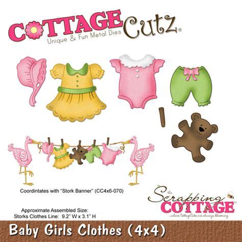 cottage cutz dies cottage cutz die baby clothes