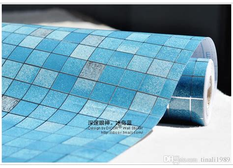 meter  adhesive  wall paper pvc mosaic wallpapers
