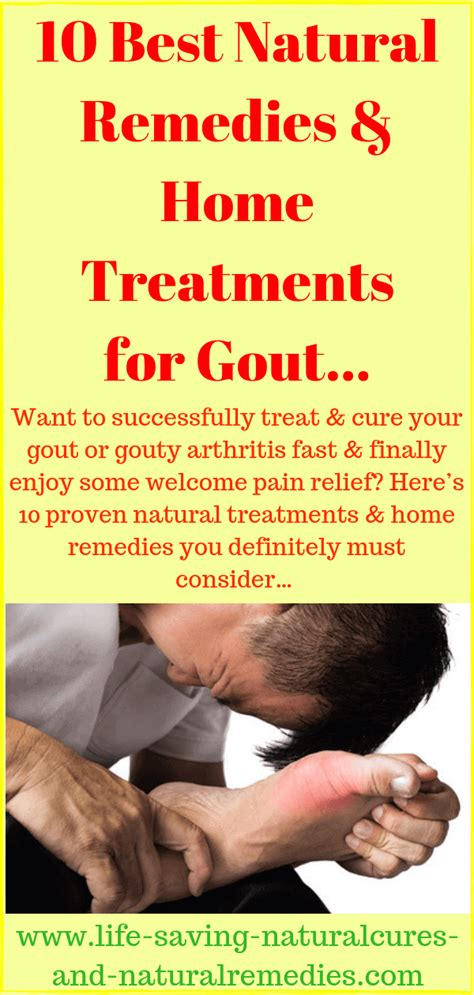 home remedies  gout  give fast relief