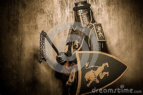Knight With Mace Royalty Free Stock Photo Image