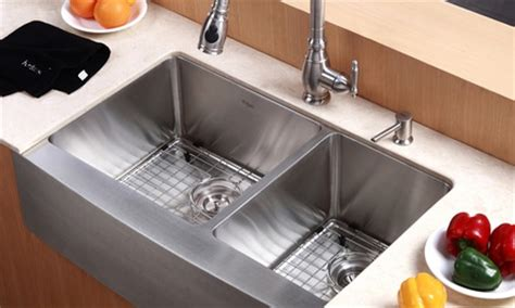 country style kitchen sink kraus country style kitchen sink groupon goods 6222