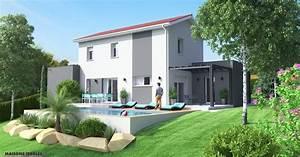 construction maison terrain en pente evtod With maison sur terrain en pente