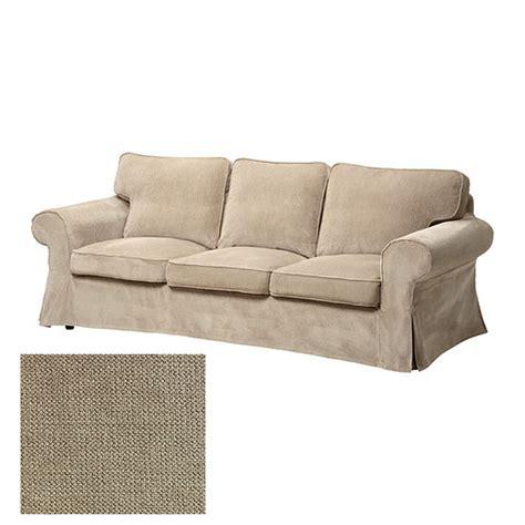 housse canap ektorp ikea ikea ektorp 3 seat sofa slipcover cover vellinge beige
