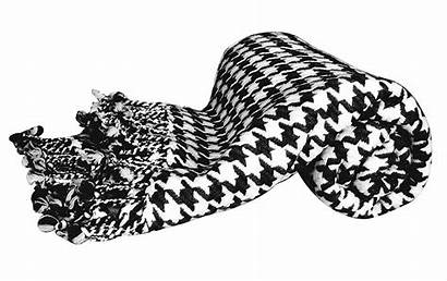 Blanket Clipart Throw Cashmere Houndstooth Peach Couture