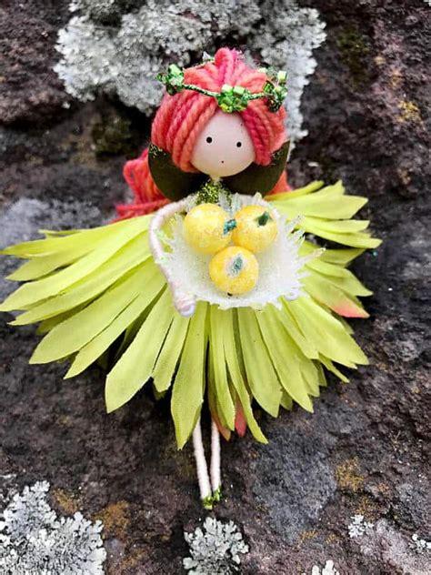beautiful handmade flower fairy dolls