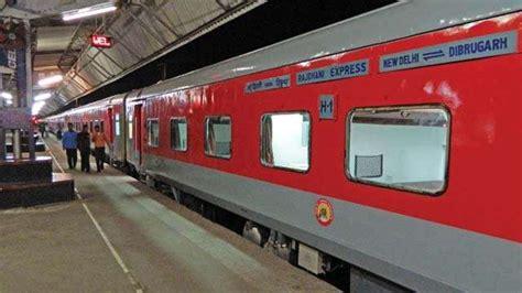 Special Rajdhani Express from New Delhi to Mumbai starts ...