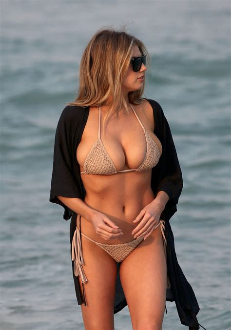 Charlotte Mckinney Super Hot Bikini Photos