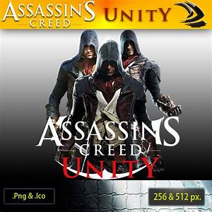 Assassin Creed 5- Unity ICON-1 by RajivCR7 on DeviantArt