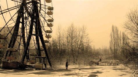 anime snow ferris wheel abandoned urban exploration