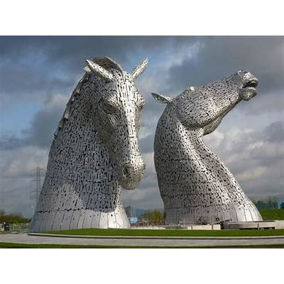 Kelpies Helix Park Falkirk - Picture of The