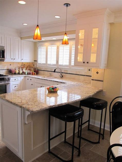 Kitchen With Both Peninsula And Island by 2 006 Curved Peninsula Kitchen Design Ideas Remodels