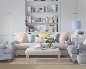repeindre salon idees de couleurs pastel With comment repeindre son salon