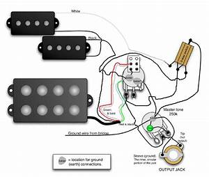 Dimarzio Bass Humbucker Wiring Diagram