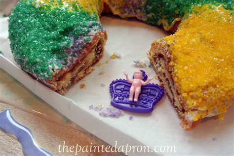 publix king cake panache gearing up for mardi gras the painted apron