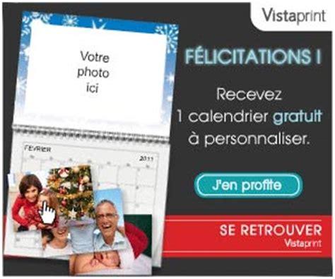 vistaprint calendrier mural gratuit vista print 1 calendrier photo mural personnalis 233 10 cartes de vœux 224 partir de 6 54 euros