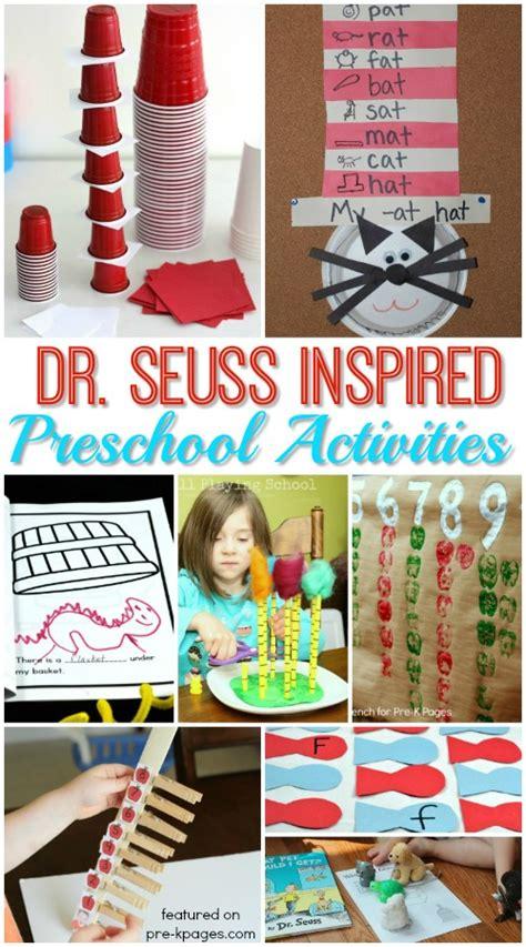 dr seuss activities for preschoolers pre k pages 545 | Dr Seuss Week Activity Ideas for Preschool
