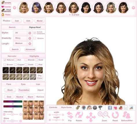 hair color try on 25 best ideas about highlighted hairstyles on