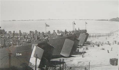 Boat Landing Townville by Landing Ship Tank Lst And Landing Craft Infantry Large