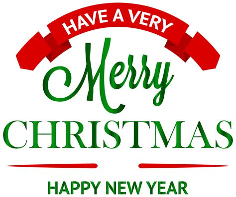 merry clipart a merry decoration png clipart best web