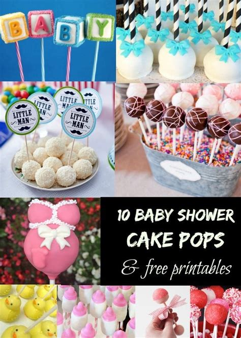 baby shower cake pops  typical mom