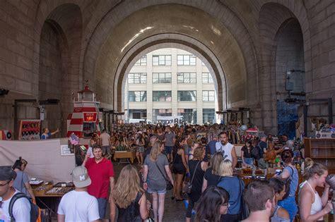 Filestreet Fair Under The Manhattan Bridge Overpass, July