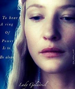 Lady Galadriel ... Frodo Elvish Quotes