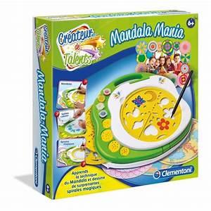 Loisirs Créatifs Enfants : clementoni mandala mania loisirs cr atif achat vente ~ Melissatoandfro.com Idées de Décoration