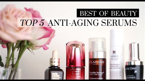 Top 5 Best Anti-Aging Serums | LookMazing - YouTube