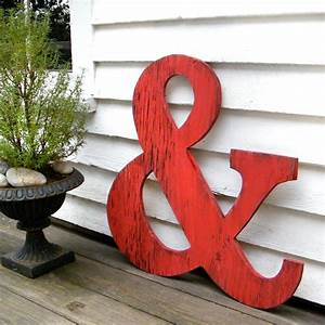 big ampersand large wooden letters 24 big wooden letters With huge wooden letters