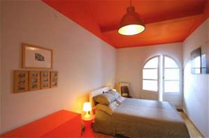 associer la peinture orange dans salon cuisine et chambre With comment faire la couleur orange en peinture 1 associer couleurs dans une chambre bleu