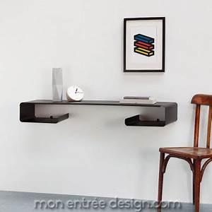 Console D Entrée Design : console murale design en acier moebius de coco design achat vente sur ~ Teatrodelosmanantiales.com Idées de Décoration
