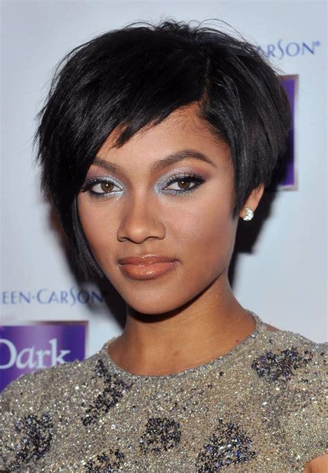 hairstyles short black hair cuts