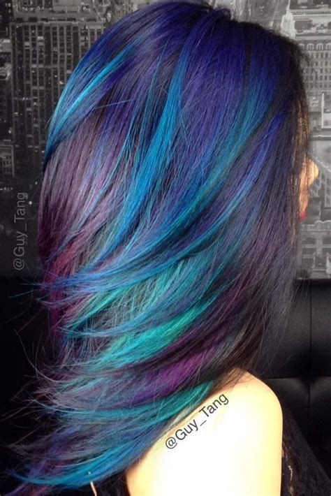 fabulous rainbow hair color ideas hair hair styles