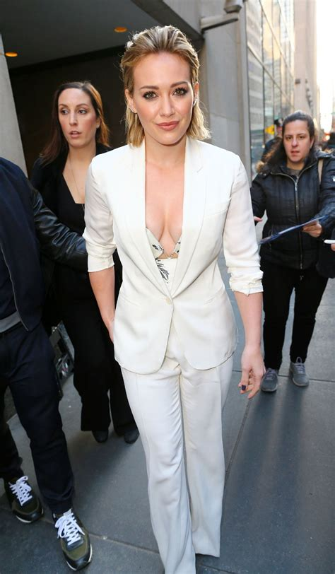 Hilary Duff at Today Show in New York City - Part II 1/12 ...