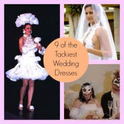 ugliest wedding dresses 9 of the tackiest and ugliest wedding dresses babble