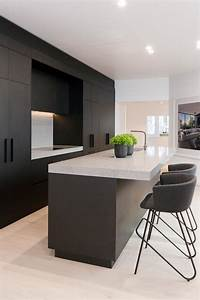 Matte black kitchen cabinets design decoration for Best brand of paint for kitchen cabinets with cheap contemporary wall art