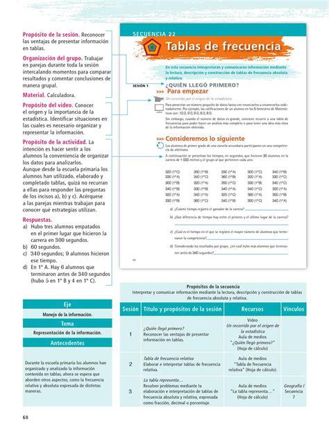 Vaya directamente a la página que fue ordenado por sabtu, 13 maret 2021 editar paco el chato matemáticas 2 grado de recogida secundaria / matemáticas ii telesecundaria: Libro De Matematicas 1 De Secundaria Contestado - Libros ...