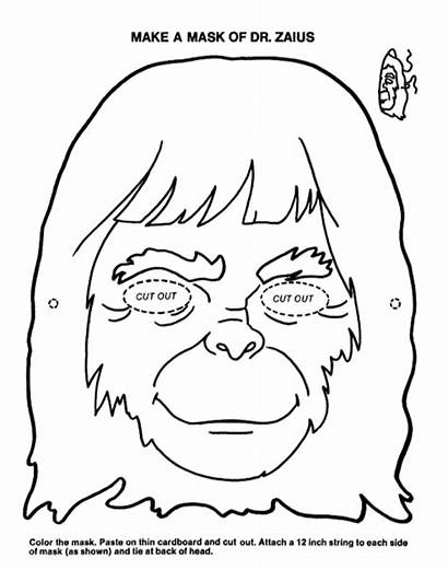 Mask Zaius Apes Planet Dr Mattbutchershop
