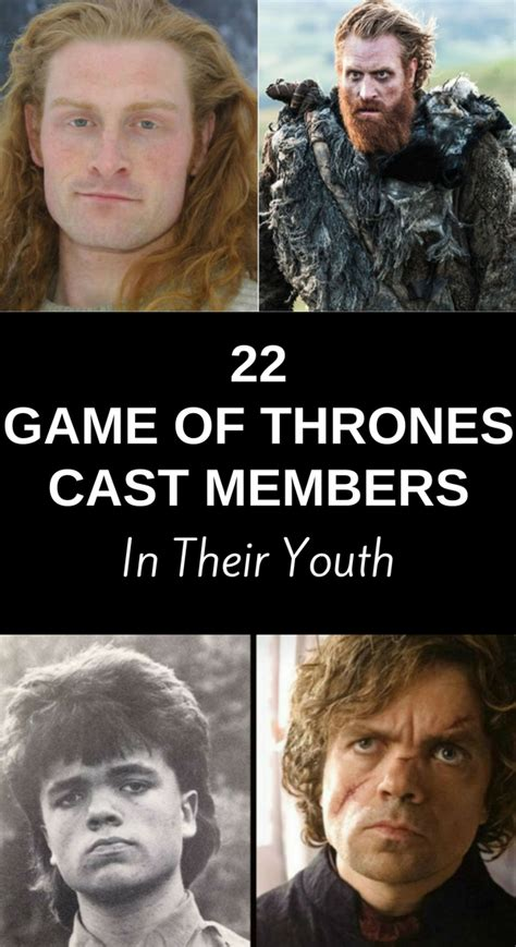 game  thrones cast members   youth ritely