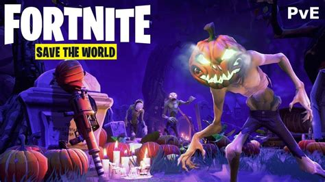 fortnite save  world gameplay ps pro youtube