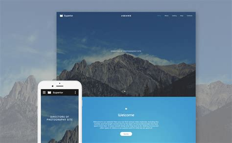 top  bootstrap templates  boost  photographers