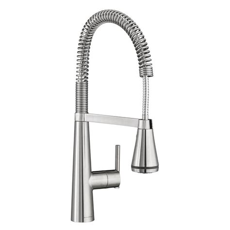 pro kitchen faucet american standard edgewater semi professional single handle pull down sprayer kitchen faucet