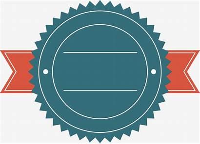 Ribbon Round Clipart Border Label Simple Pngio