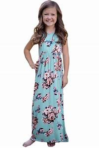 Baby Length And Weight Chart Stylish Light Blue Floral Print Sleeveless Little Girl