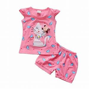BibiCola Infant clothes toddler children summer baby girls ...