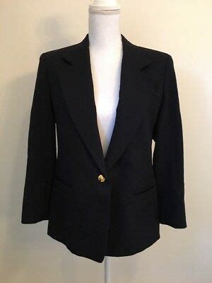 vintage austin reed womens blazer jacket  worsted wool