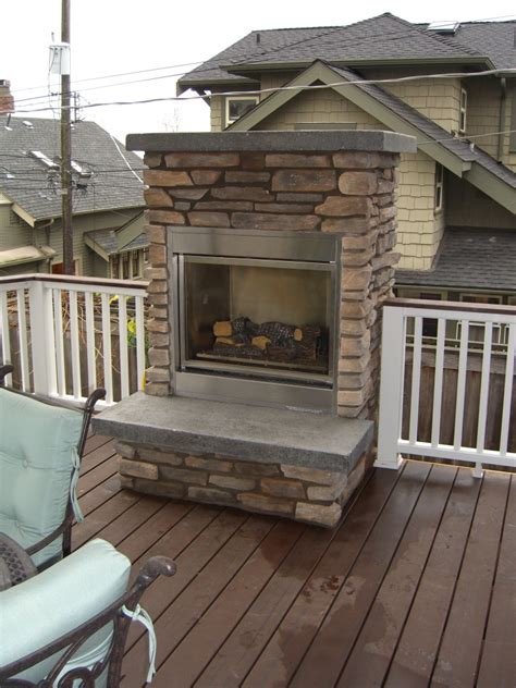 Natural Gas And Outdoor Fireplace Fireplaces